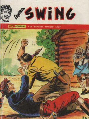 CAPTAIN SWING (2e série) N°26 Sudraka l'invincible – MON JOURNAL 1996
