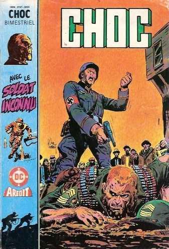 CHOC (3E SERIE) N°16 Le Soldat inconnu (AREDIT 1987)