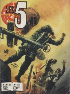 LES 5 AS N°183 – Le messager du Rhin – IMPERIA 1980