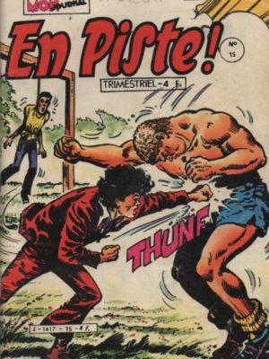 EN PISTE 1e série N°15 – Le canonnier a disparu – Mon Journal 1981