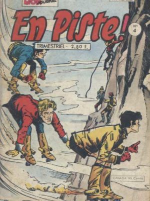 EN PISTE 1e série N°4 – L'épreuve espagnole – Mon Journal 1978