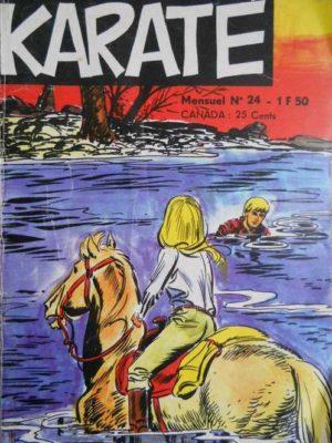 Karaté (le loup blanc) N°24 – Jeunesse et Vacances 1971