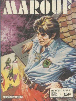 MAROUF N°158 – L'enlèvement du général Funderbach – IMPERIA 1982