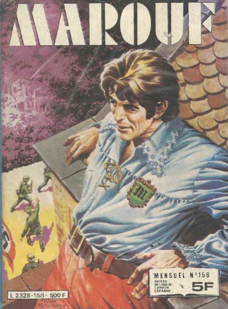 MAROUF N°158 - L'enlèvement du général Funderbach - IMPERIA 1982
