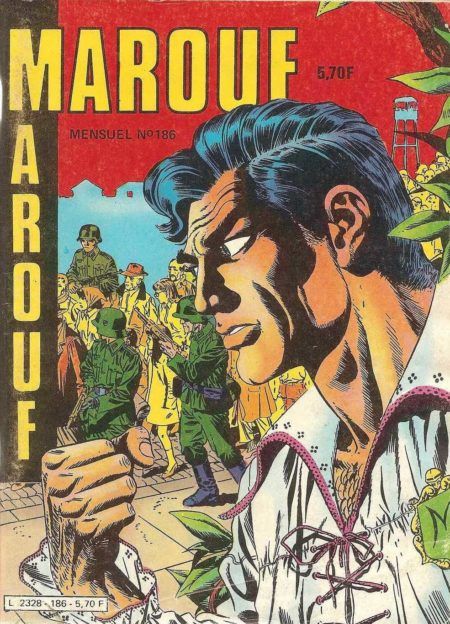 MAROUF N°186 - Un homme appelé Gluck - IMPERIA 1984