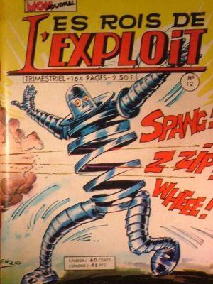 LES ROIS DE L'EXPLOIT N°12 Les As Du Sport – Mon Journal 1976