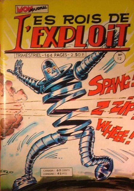 LES ROIS DE L'EXPLOIT N°12 Les As Du Sport - Mon Journal 1976