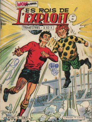LES ROIS DE L'EXPLOIT N°29 Le Sorcier Du Foot – Mon Journal 1980