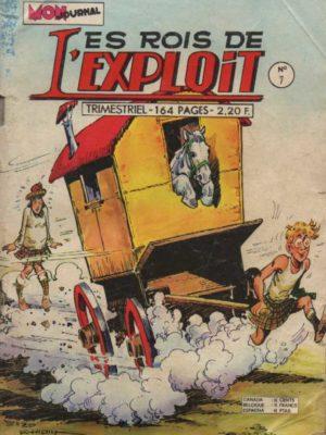 LES ROIS DE L'EXPLOIT N°7 Milord Lariflette – Mon Journal 1974