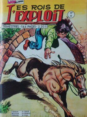 LES ROIS DE L'EXPLOIT N°8 Milord Lariflette – Mon Journal 1975