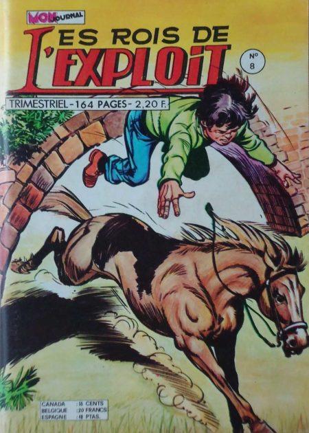 LES ROIS DE L'EXPLOIT N°8 Milord Lariflette - Mon Journal 1975