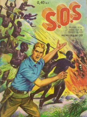 SOS (1e série) N°39 Le mitrailleur silencieux (Artima 1962)
