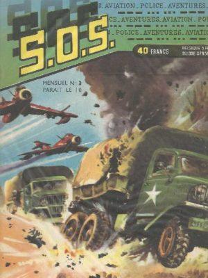 SOS (1e série) N°3 Ray HALCOTAN – Recours désespéré (Artima 1959)