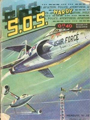 SOS (1e série) N°10 Ray HALCOTAN – La grande concurrence (Artima 1960)