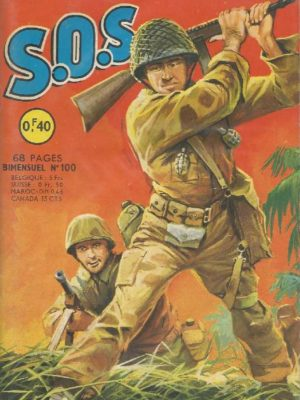 SOS (1e série) N°100 – Le choix de l'espion (1e partie) AREDIT 1965