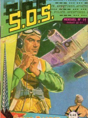 SOS (1e série) N°14 L'homme qui vécut 2 fois (Artima 1960)
