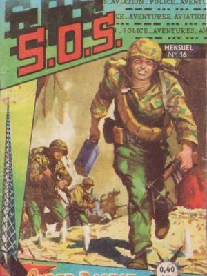SOS (1e série) N°16 La Route secrète (Artima 1960)