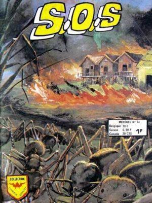 SOS (2e série) N°14 Frank Stuart – Les fourmis voyageuses (Aredit 1974)