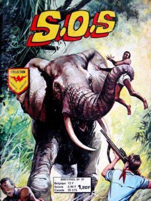 SOS (2e série) N°39 SIMBA – la Brousse complice (Aredit 1976)