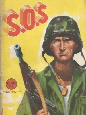 SOS (1e série) N°30 Soldats pour la Corée (Artima 1961)