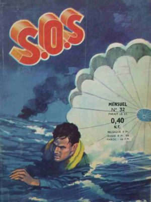 SOS (1e série) N°32 Hommes dans le feu (Artima 1961)