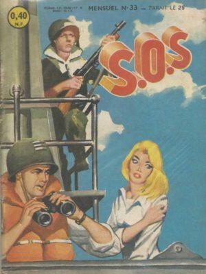 SOS (1e série) N°33 Survie réparatrice (Artima 1961)