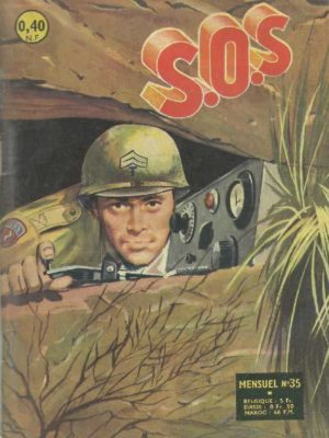 SOS (1e série) N°35 L'abîme bleu (Artima 1962)