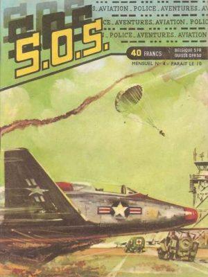 SOS (1e série) N°4 Ray HALCOTAN – La mort sur les ailes (Artima 1959)