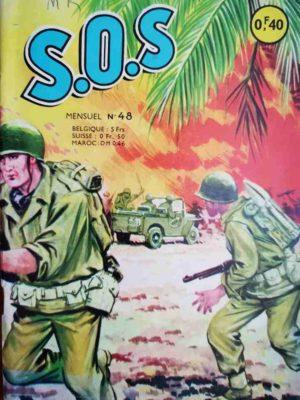 SOS (1e série) N°48 Le combattant du Channel (Artima 1963)
