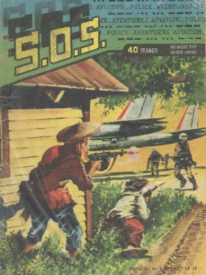 SOS (1e série) N°5 Ray HALCOTAN – Japon point stratégique (Artima 1959)