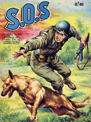 SOS (1e série) N°50 La rose rouge du chasseur (Artima 1963)