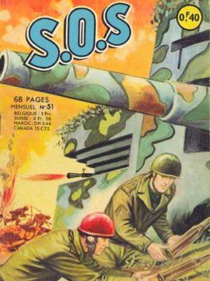 SOS (1e série) N°51 Le tank était un tacot (Artima 1963)