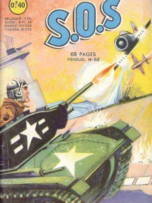SOS (1e série) N°52 Tank de porte-avions (Artima 1963)