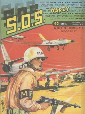 SOS (1e série) N°8 Ray HALCOTAN – Le mystère du Super-Sabre (Artima 1959)