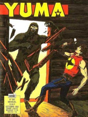 YUMA (1e Série) N°360 ZAGOR – Darkwood monitor (2e partie) SEMIC 1992