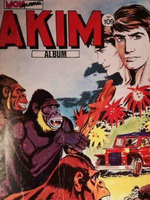 AKIM (1e série) ALBUM 109 (N°557-558-559-560) MON JOURNAL 1983