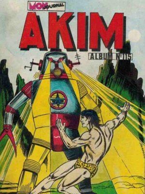AKIM (1e série) ALBUM 115 (N°581-582-583-584) MON JOURNAL 1984