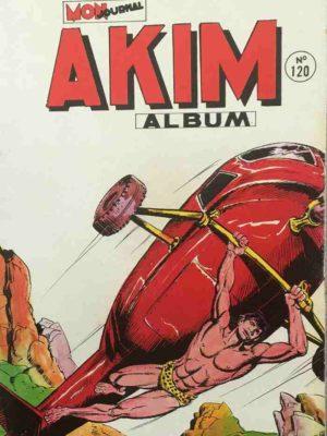 AKIM (1e série) ALBUM 120 (N°601-602-603-604) MON JOURNAL 1985