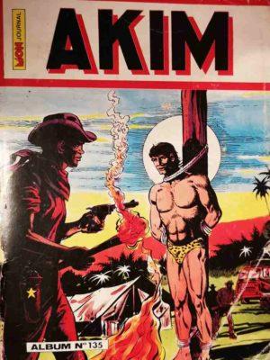 AKIM (1e série) ALBUM 135 (N°661-662-663-664) MON JOURNAL 1988