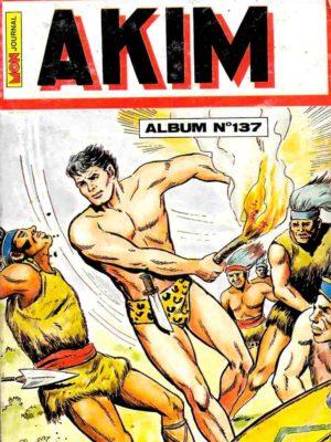AKIM (1e série) ALBUM 137 (N°669-670-671-672) MON JOURNAL 1988