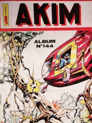 AKIM (1e série) ALBUM 144 (N°697-598-699-700) MON JOURNAL 1989