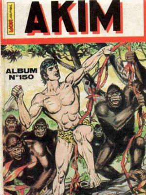 AKIM (1e série) ALBUM (N°700-702-703-722) MON JOURNAL 1988