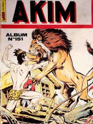 AKIM (1e série) ALBUM 151 (N°725-726-727-728) MON JOURNAL 1990