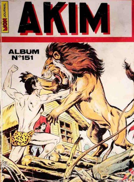 AKIM (1e série) ALBUM 151 (N°725-726-727-728)