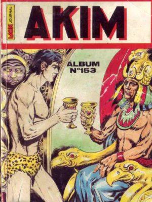 AKIM (1e série) ALBUM (N°652-672-689-734) MON JOURNAL 1988