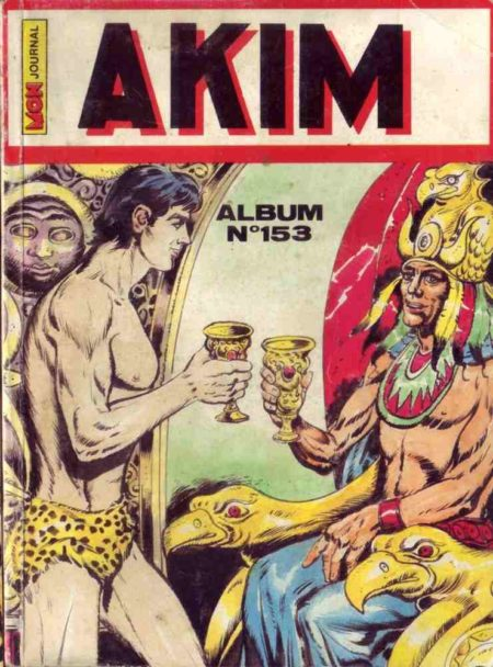 AKIM (1e série) ALBUM (N°652-672-689-734)