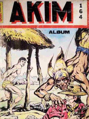 AKIM (1e série) ALBUM 164 (N°741-742-743-744) MON JOURNAL 1990
