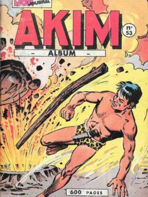 AKIM (1e série) ALBUM 53 (N°321-322-323-324-325-326) MON JOURNAL 1974