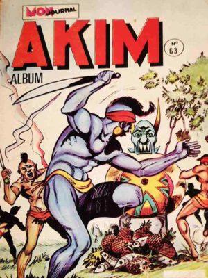 AKIM (1e série) ALBUM 63 (N°373-374-375-376) MON JOURNAL 1976