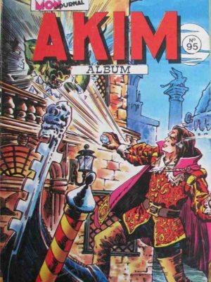 AKIM (1e série) ALBUM 95 (N°501-502-503-504) MON JOURNAL 1981